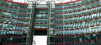 Sony Center Berlin, Tyskland Arkivbilder