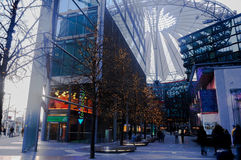 Sony Center building in Potsdamer Platz, Berlin Stock Photography