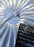 Sony Center Dome. Potsdamer Platz, Berlin Royalty Free Stock Photo
