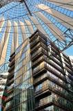 Sony Center em Potsdamer Platz Foto de Stock Royalty Free