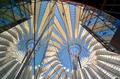Sony Center på Potsdamer Platz Royaltyfria Foton