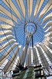 The Sony Center on Potsdamer Platz. BERLIN, GERMANY - APRIL 30, 2014: The Sony Center on Potsdamer Platz. Sony Center located at the Potsdamer Platz is a Sony Stock Photo