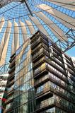 The Sony Center on Potsdamer Platz Royalty Free Stock Photo