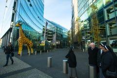 The Sony Center on Potsdamer Platz. Royalty Free Stock Photography