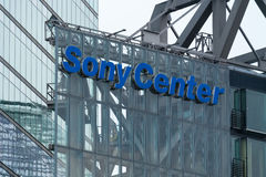 Sony Center at Potsdamer Platz Royalty Free Stock Image
