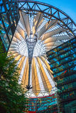 Sony Center roof at Potsdamer Platz, Berlin Stock Image