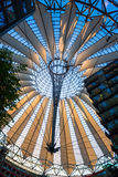 Sony Center roof at Potsdamer Platz, Berlin Royalty Free Stock Images