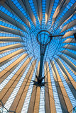 Sony Center roof at Potsdamer Platz, Berlin Royalty Free Stock Photos
