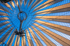 Sony Center roof at Potsdamer Platz, Berlin. Sony Center roof at Potsdamer Platz in Berlin, Germany royalty free stock image