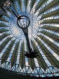Sony Center's top. The cover of the Sony Center's square at Potsdamer Platz in Berlin (Germany). Placed in a location that was part of the old east Berlin, this Stock Photo