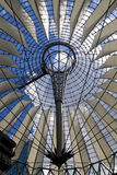 Sony Centre. Tensostructure in Berlin - Sony Centre stock image