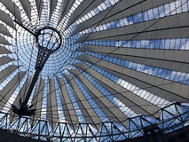 Sony Centre, Berlin, Allemagne photo stock