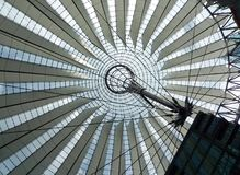 Sony Centre, Berlin, Germany Royalty Free Stock Photo