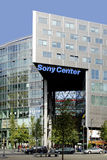 Sony centre in Berlin Royalty Free Stock Photos
