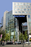 Sony centre in Berlin. Sony centre at the Potsdam place in Berlin stock photos