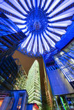 Sony centre at night. Potadmer platz, Berlin - Germany Stock Photo
