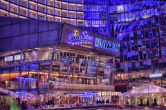 Sony-Centro em Berlim Foto de Stock Royalty Free