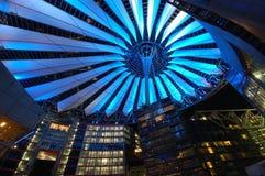 Sony-centrum in Berlijn Stock Fotografie