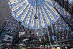 Sony centrum Berlin Niemcy Obrazy Stock