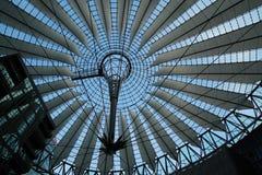 Sony-centrum in de stad van Berlijn Stock Foto