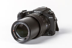 Sony DSC-RX10 Cyber preso II, 20 megapixels Fotografie Stock Libere da Diritti