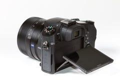 Sony DSC-RX10 Cyber preso II, 20 megapixels Fotografia Stock Libera da Diritti