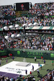 Sony Ericsson Open in Miami, Florida Stock Foto's