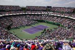 Sony Ericsson Open in Miami, Florida Royalty Free Stock Photo