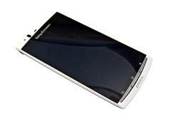 Sony Ericsson smartphone - XPERIA Royalty Free Stock Photos