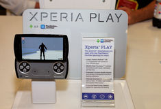 Sony Ericsson Xperia Play Stock Photo