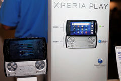 Sony Ericsson Xperia Play Royalty Free Stock Photos