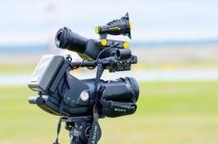 Sony kamera wideo Rosja, Ekaterinburg 02 2012 Sierpień Obrazy Stock