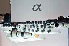 Sony Lens Group Fotografía de archivo