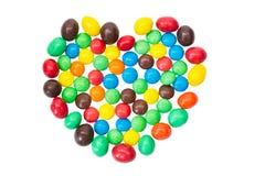 SONY mehrfarbig, bunte Süßigkeit, Bonbons in Stockfoto