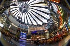 Sony mitt i Berlin Fotografering för Bildbyråer