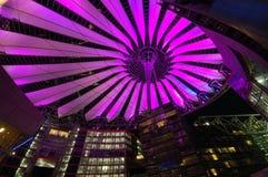 Sony-Mitte in Berlin lizenzfreies stockbild