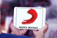Sony Music Entertainment-embleem Stock Foto's