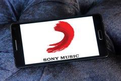 Sony Music Entertainment-embleem Royalty-vrije Stock Foto's