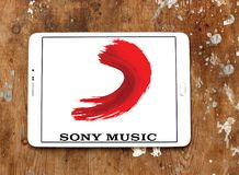 Sony Music Entertainment logo obraz royalty free