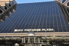 Sony Pictures byggnad i den Culver staden, Cslifornia arkivbilder