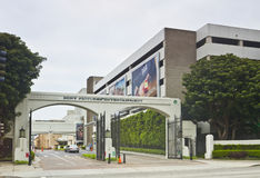 Sony Pictures Entertainment Studio East Gate. Los Angeles, USA - May 13, 2011: The Culver City east  gate of Sony Pictures Entertainment on May 13, 2011 in Los Stock Images