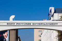Sony Pictures studios Entrance. CULVER CITY, CA/USA - NOVEMBER 29, 2014: Sony Pictures studios entrance. Sony Pictures Studios are a television and film studio Stock Image