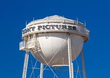 Sony Pictures Water Tower imagen de archivo