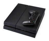 Sony PlayStation 4 fotografía de archivo libre de regalías