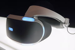 Sony Project Morpheus. Close-up shot of Sony Project Morpheus Stock Photos