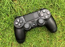 Sony ps4 pro controller royalty free stock image