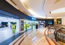 Sony store in Suria KLCC mall, Kuala Lumpur, Malaysia. KUALA LUMPUR - JUNE 15, 2016: The Sony store in the Suria KLCC mall. The diversified business of Sony Stock Photo