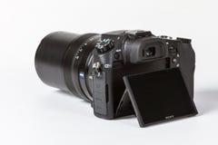 Sony Strzelający DSC-RX10 II, 20 megapixels Zdjęcia Royalty Free