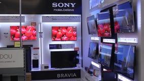 Sony-TVs stock videobeelden