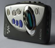 Sony walkman Arkivfoto